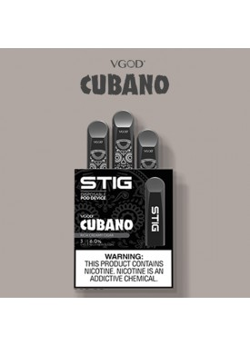 STIG Disposable Pod - Cubano, 60mg