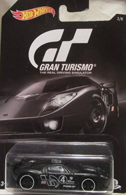 Hot Wheels Ford GT Gran Turismo