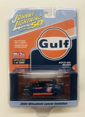 Johnny Lightning Mitsubishi Lancer Gulf