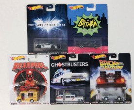 Hot Wheels Set Retro Bat Dead Ghos Back
