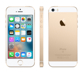 Apple iPhone SE 32GB Dourado