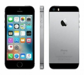 Apple iPhone SE 16GB Cinza Espacial - Usado